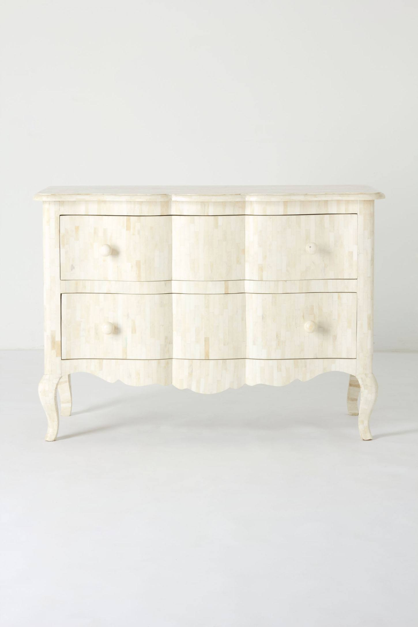Scalloped Inlay Dresser