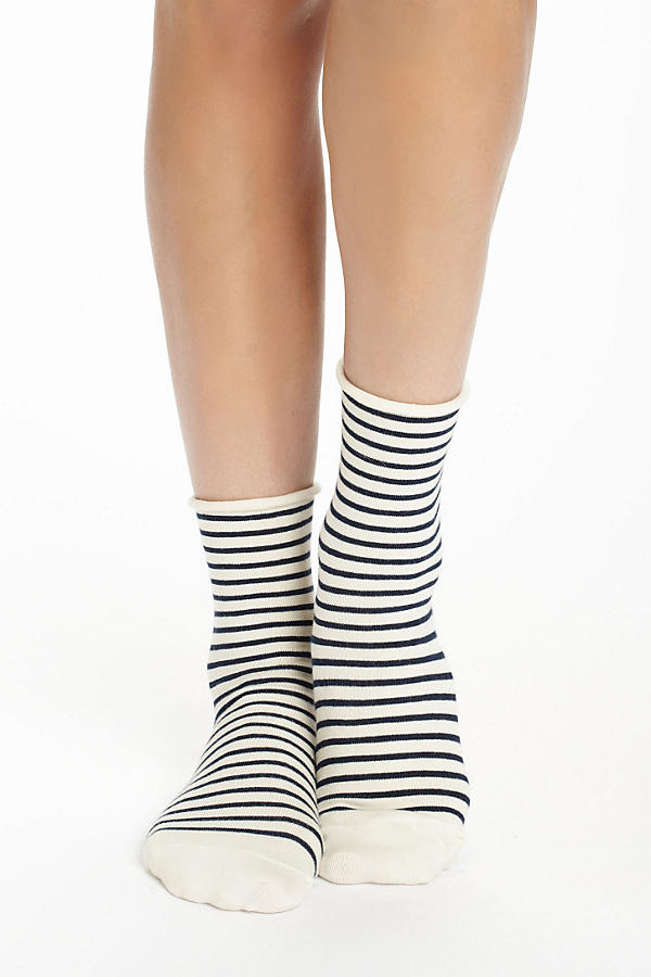 Candy-Striped Socks