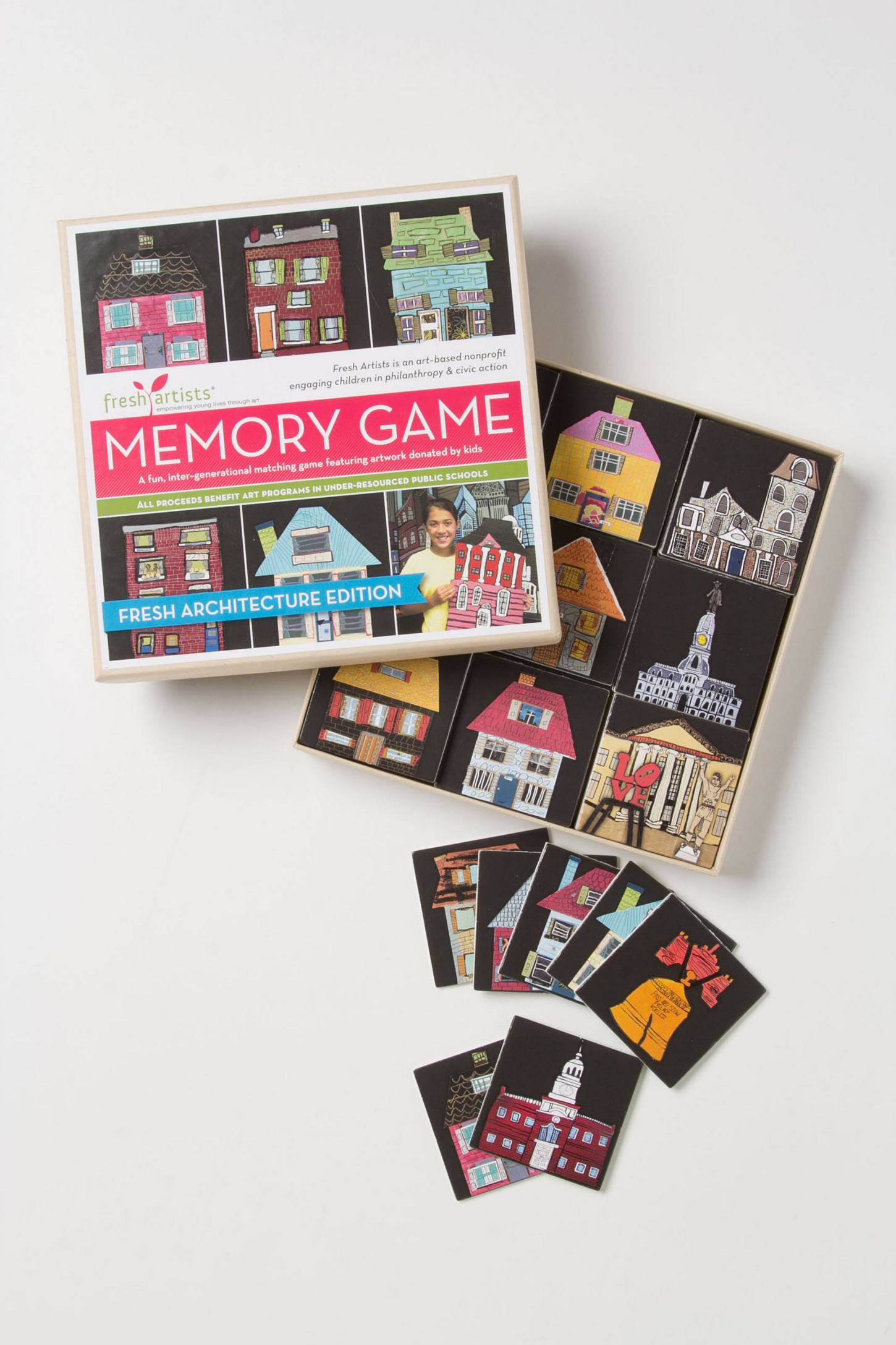 Fresh Architecture Memory Game