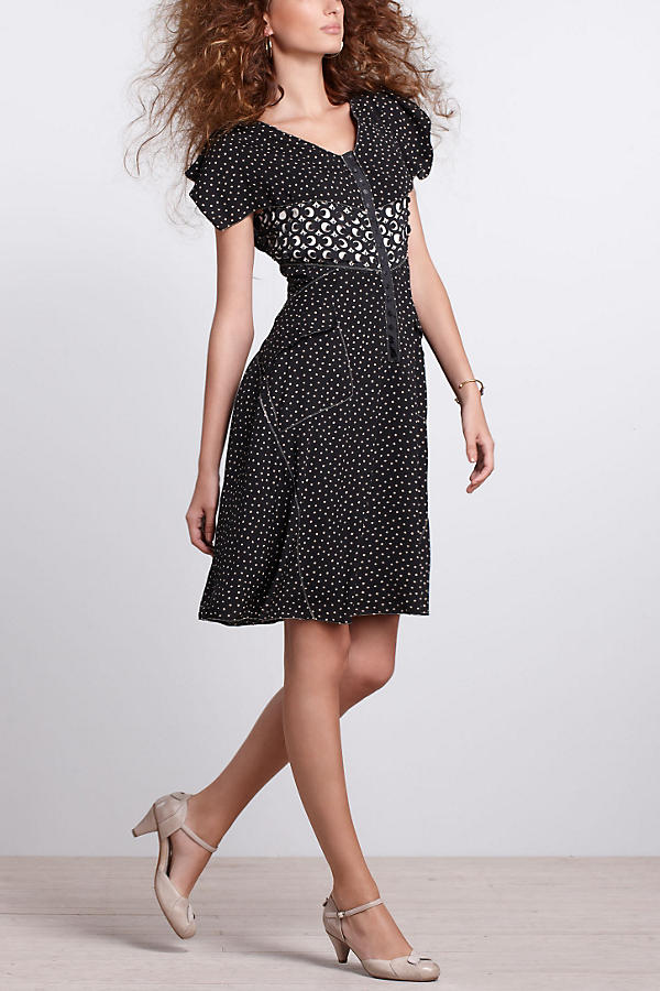 Slide View: 3: Lasercut Shirtdress