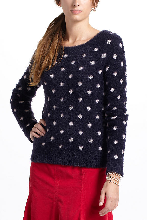 Slide View: 2: Dotted Woolly Sweater