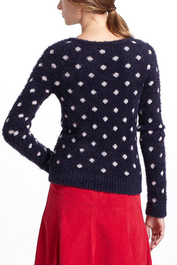 Slide View: 3: Dotted Woolly Sweater