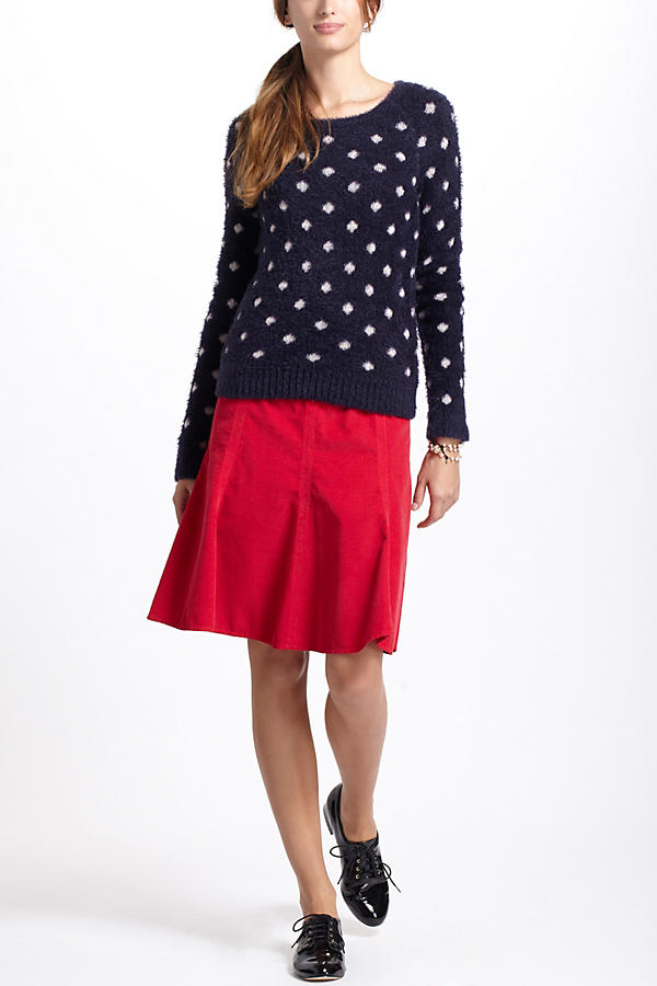 Slide View: 4: Dotted Woolly Sweater