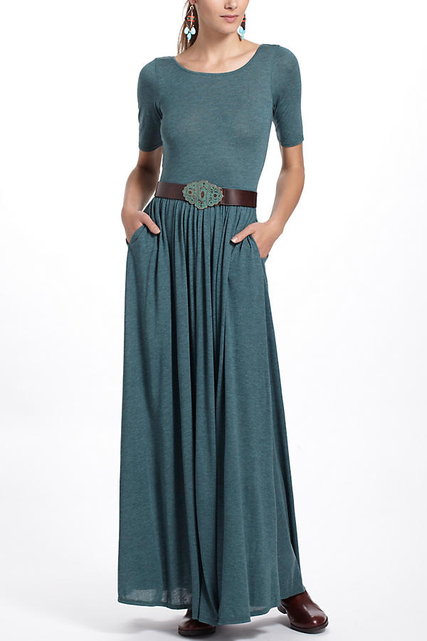 Slide View: 1: Scoopback Maxi Dress