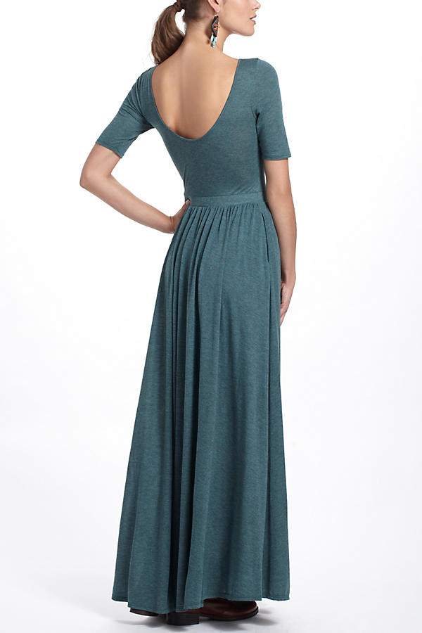 Slide View: 3: Scoopback Maxi Dress