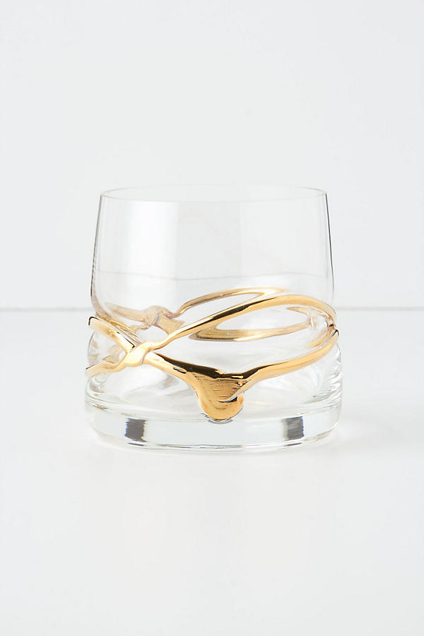 Twisted Gold Tumbler