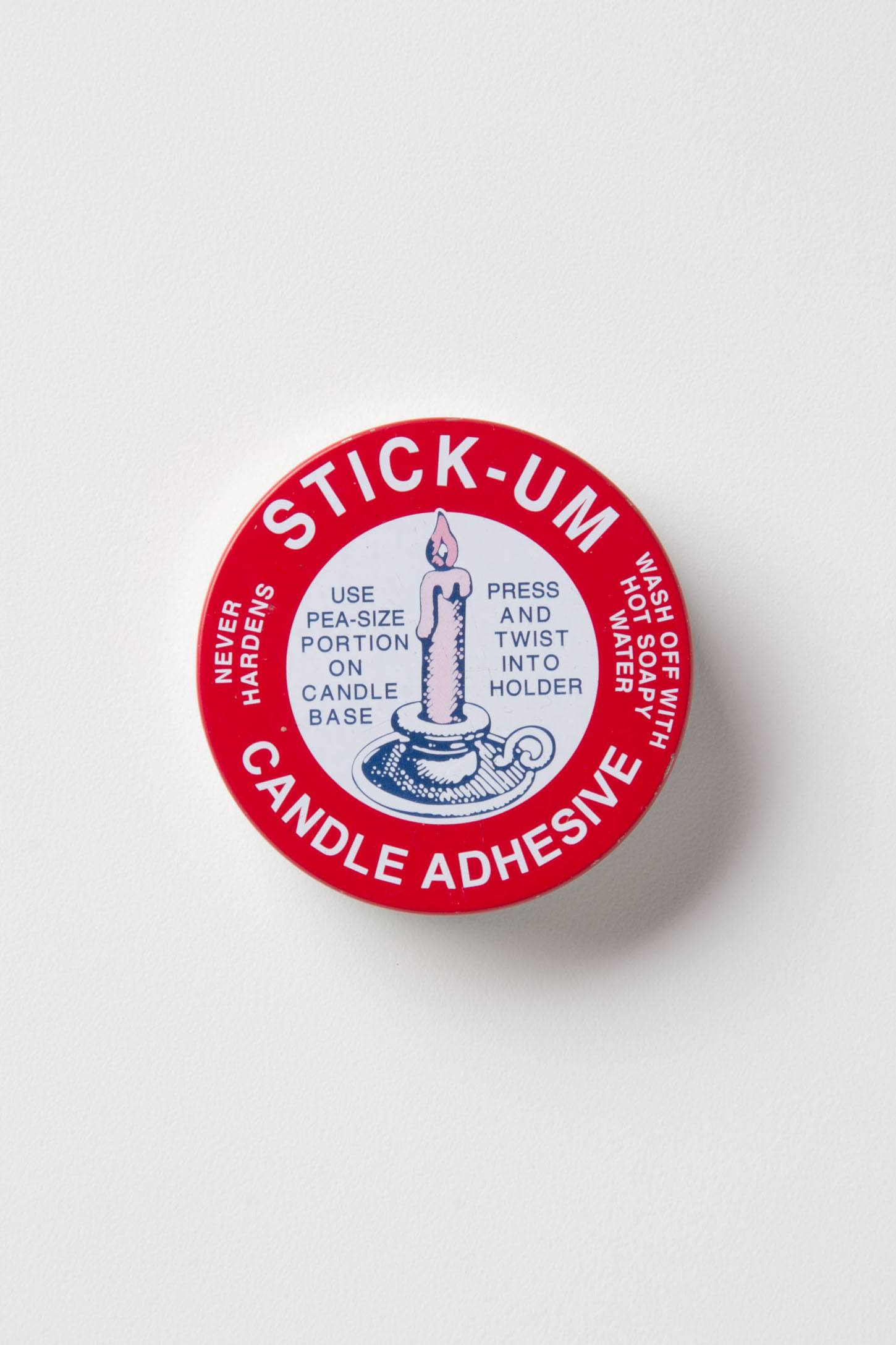 Slide View: 1: Stick-Um Candle Adhesive
