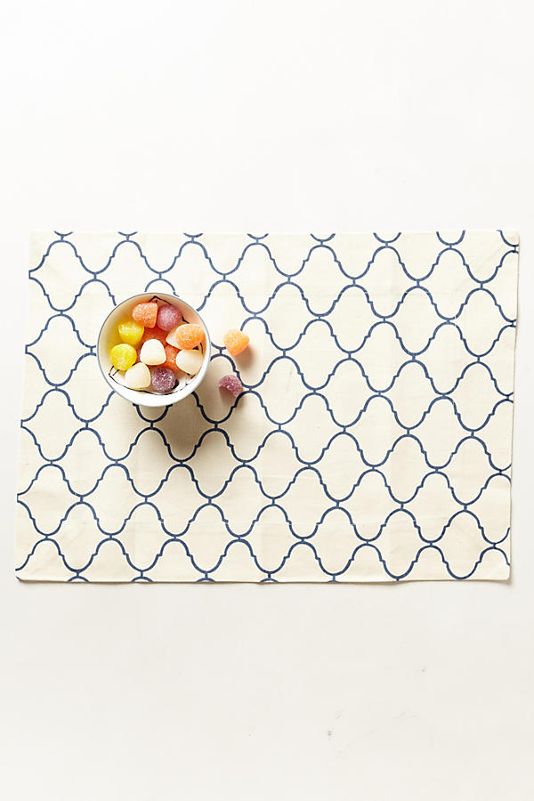 Scroll-Weave Placemat