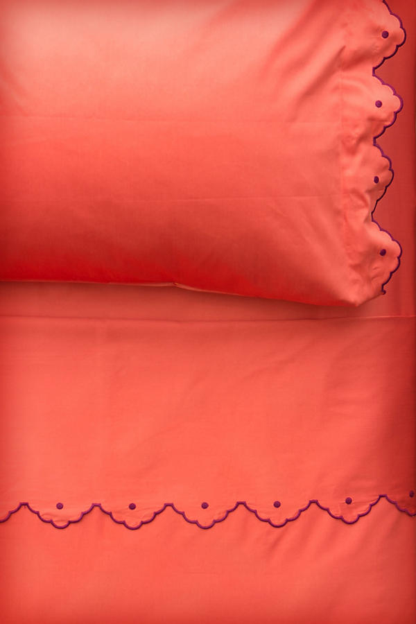 Scalloped Sheet Set