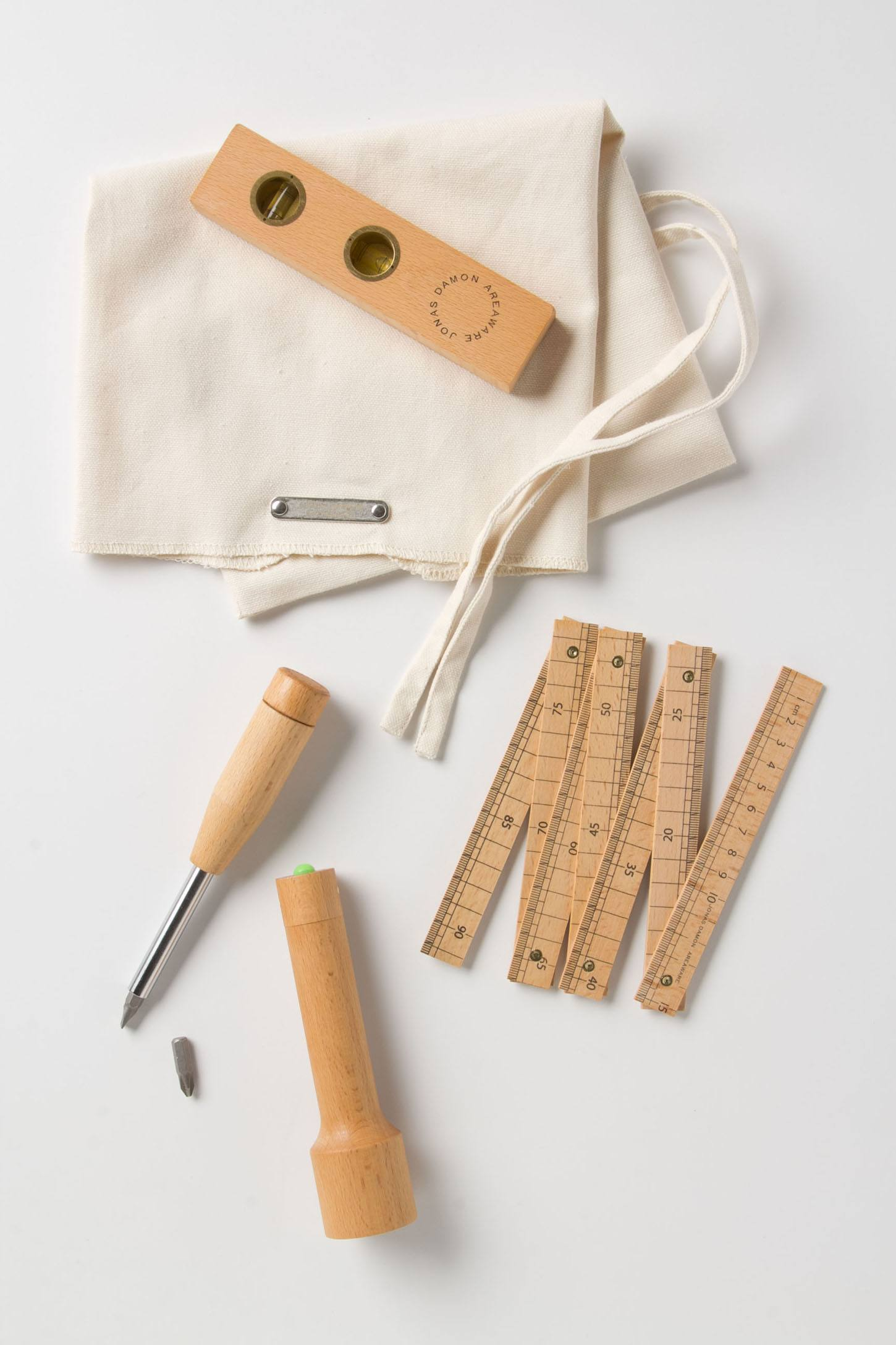 Household Wooden Tool Set