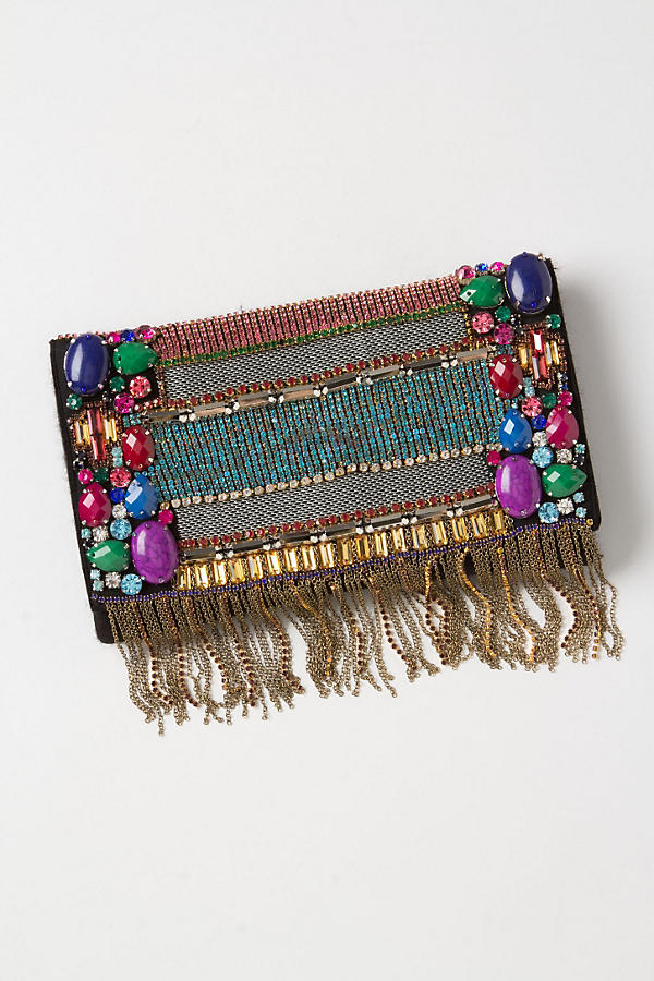 Fringed Manjusha Clutch