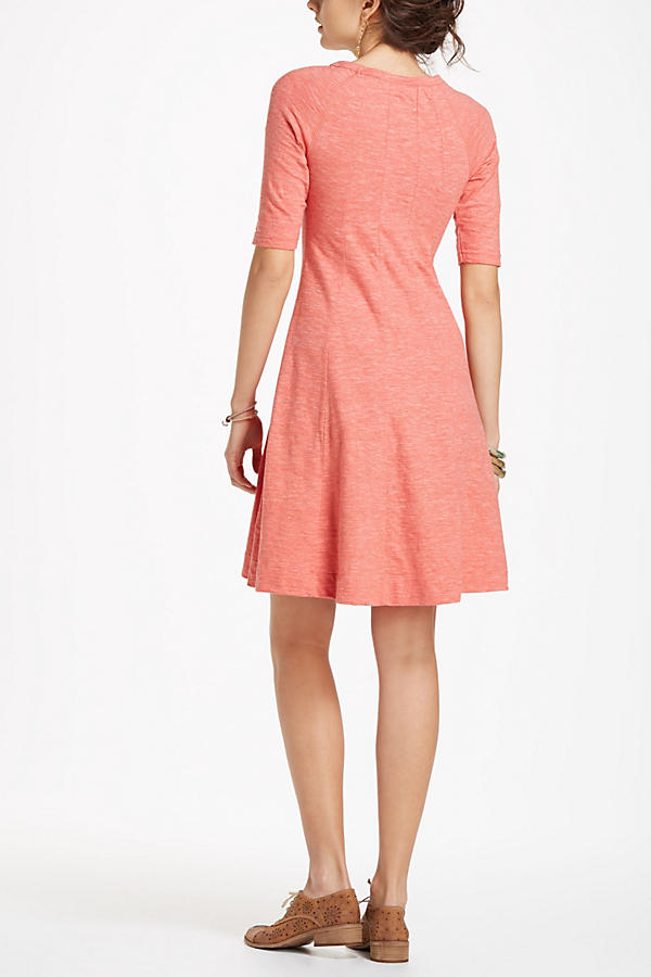 Slide View: 2: Threaded Trails Swing Dress