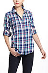 Thumbnail View 2: Pintucked Flannel Buttondown