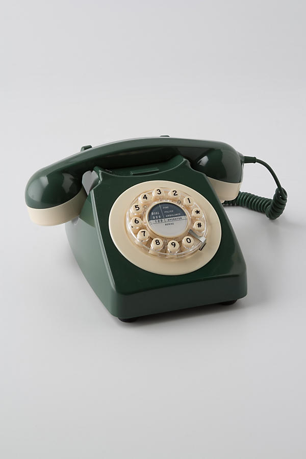 Slide View: 1: Vintage Rotary Phone