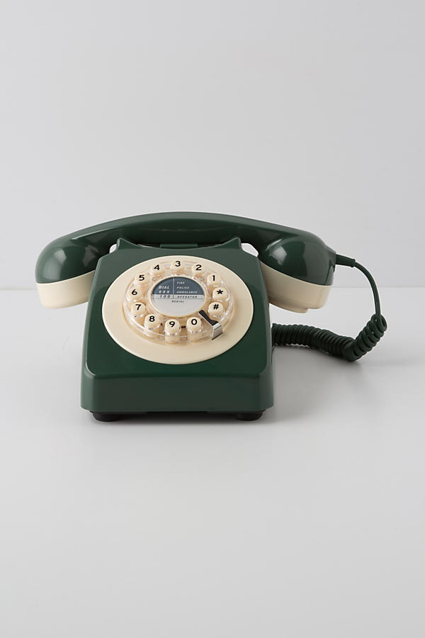 Slide View: 2: Vintage Rotary Phone