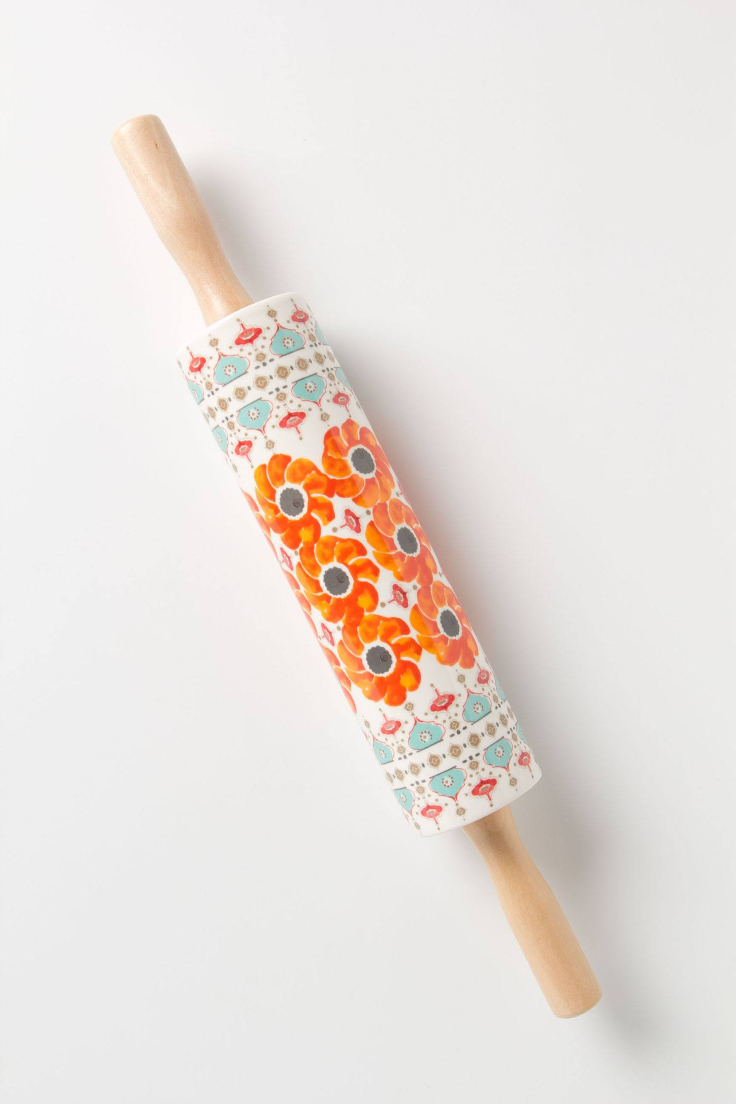 Poppy Ring Rolling Pin