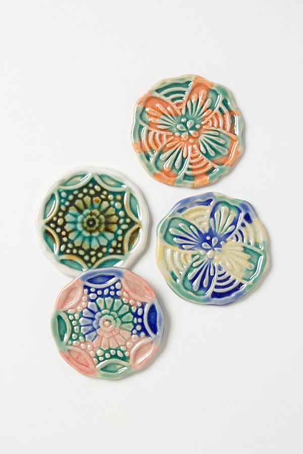 Slide View: 1: Mandala Coasters