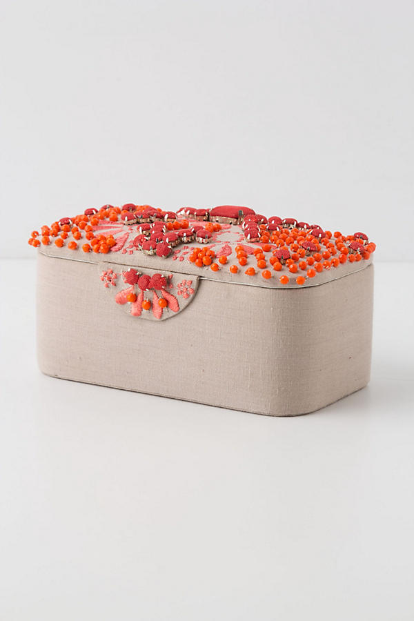 Slide View: 1: Coral Bells Jewelry Box