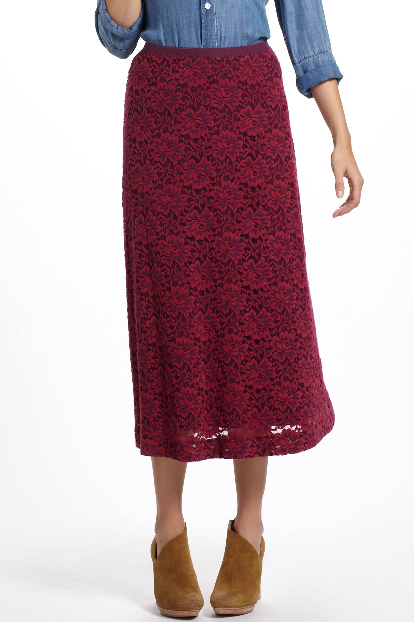Ide Lace Skirt