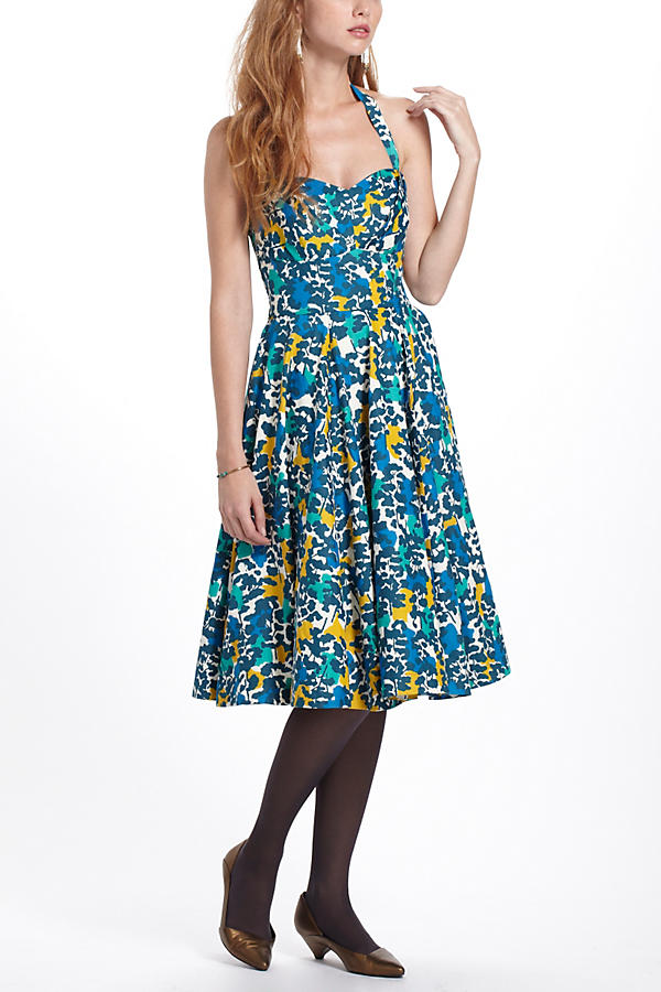Edith Halter Dress