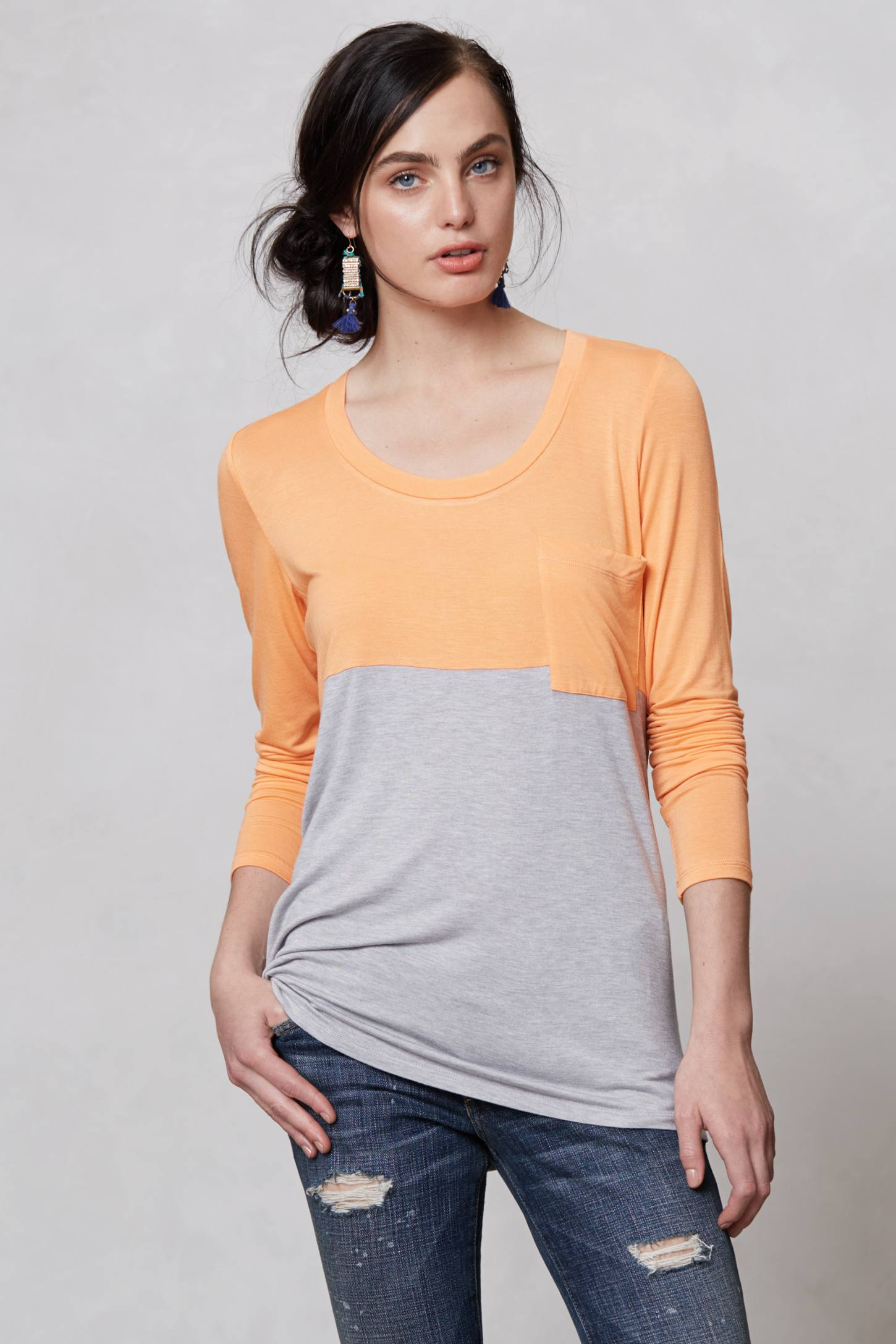 Duo Colorblocked Top