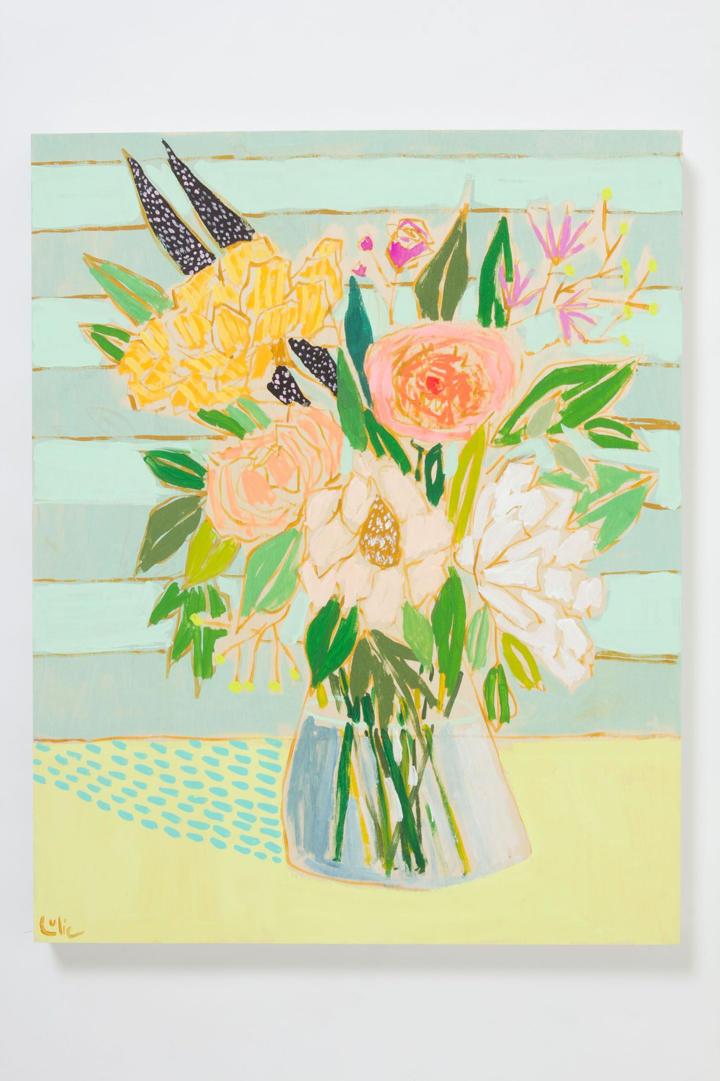 Flowers For Greta By Lulie Wallace | Anthropologie