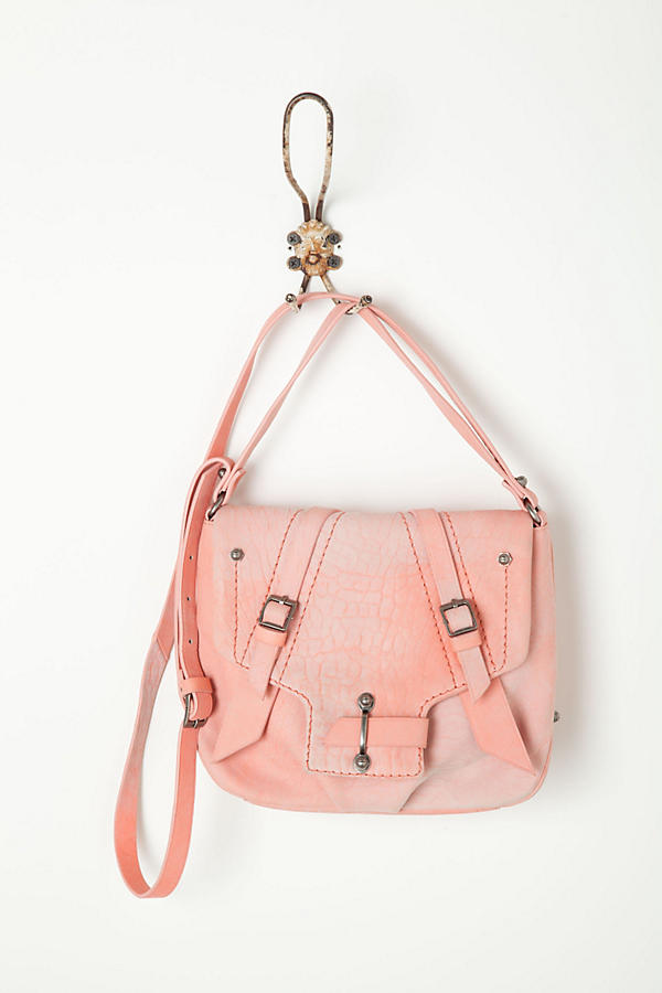 Slide View: 1: Croc Blush Satchel
