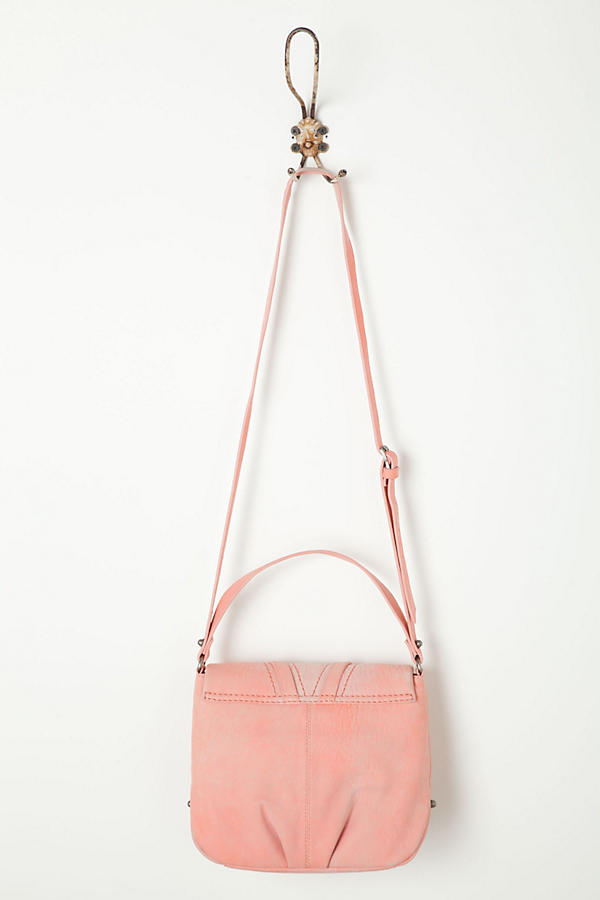Slide View: 2: Croc Blush Satchel