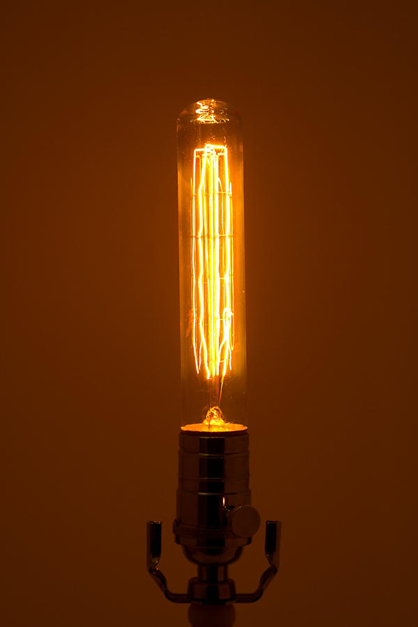 Slide View: 2: Edison Bulb, Long