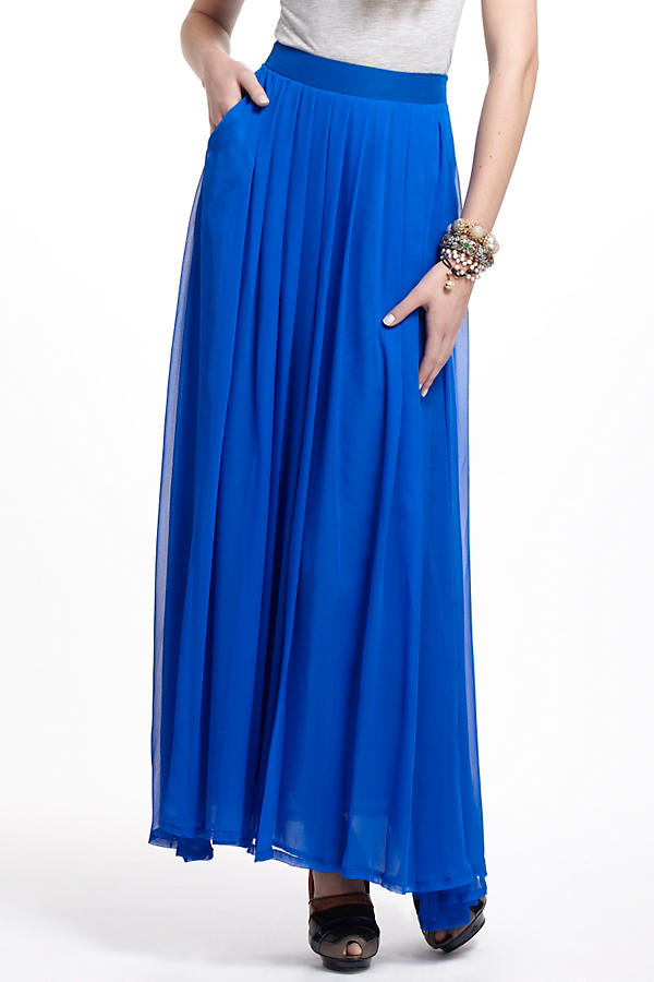 Slide View: 2: Aerophone Silk Maxi Skirt