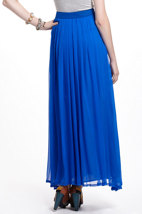Slide View: 3: Aerophone Silk Maxi Skirt