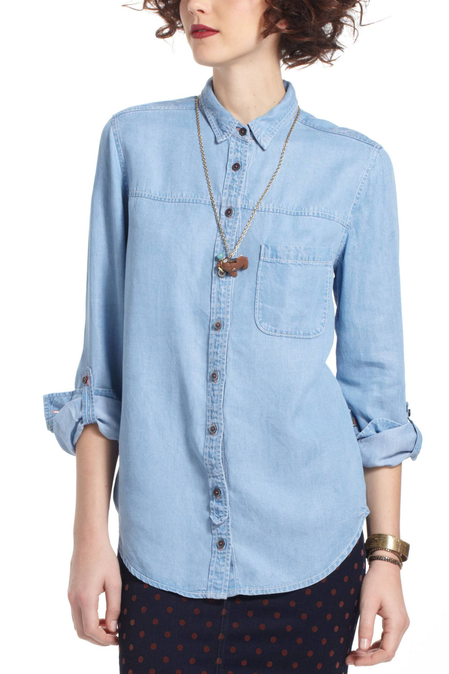 Abilene Chambray Buttondown