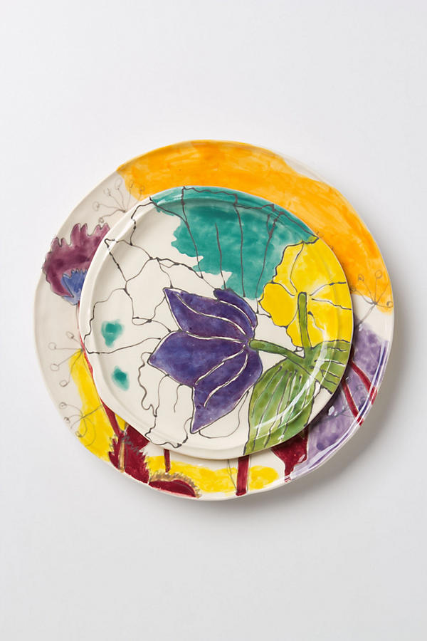 Slide View: 1: Palette-Sketch Dinner Plate