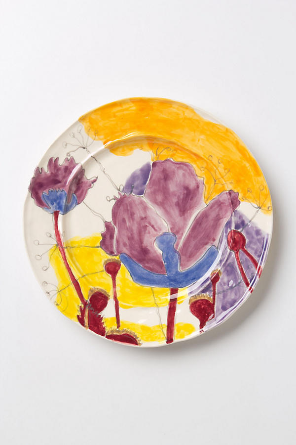 Slide View: 2: Palette-Sketch Dinner Plate