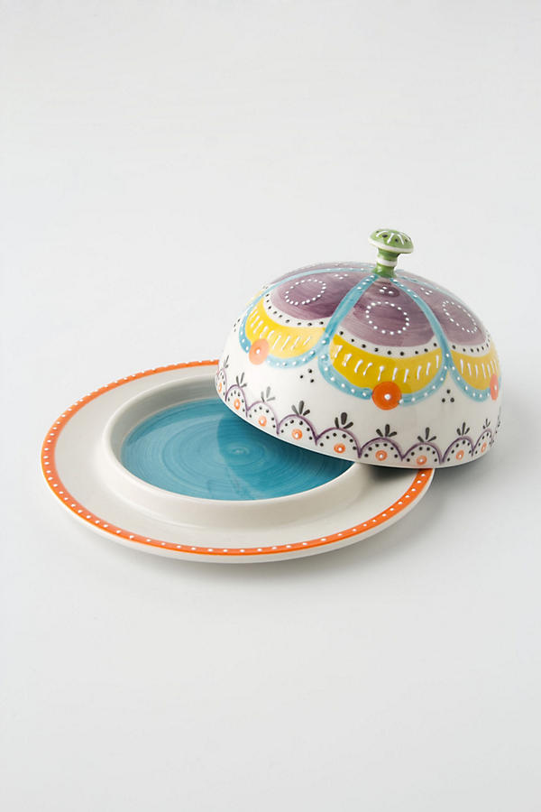 Slide View: 1: Carousel Butter Dish