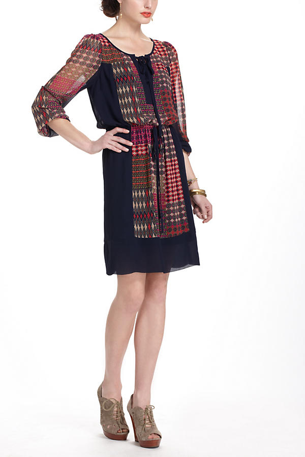 Slide View: 1: Rosalie Peasant Dress