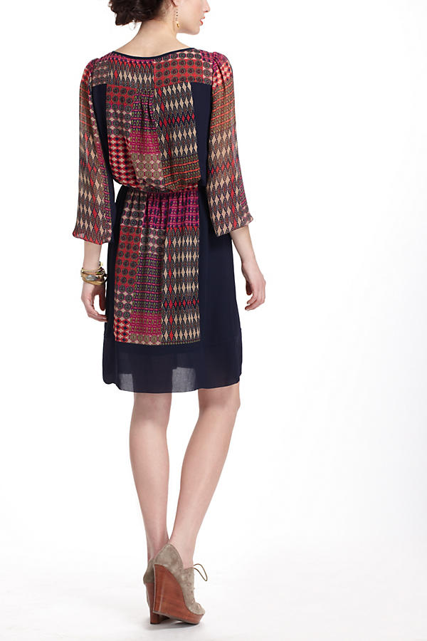 Slide View: 2: Rosalie Peasant Dress