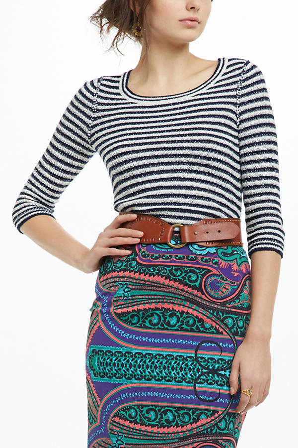 Stacked Latitudes Pullover