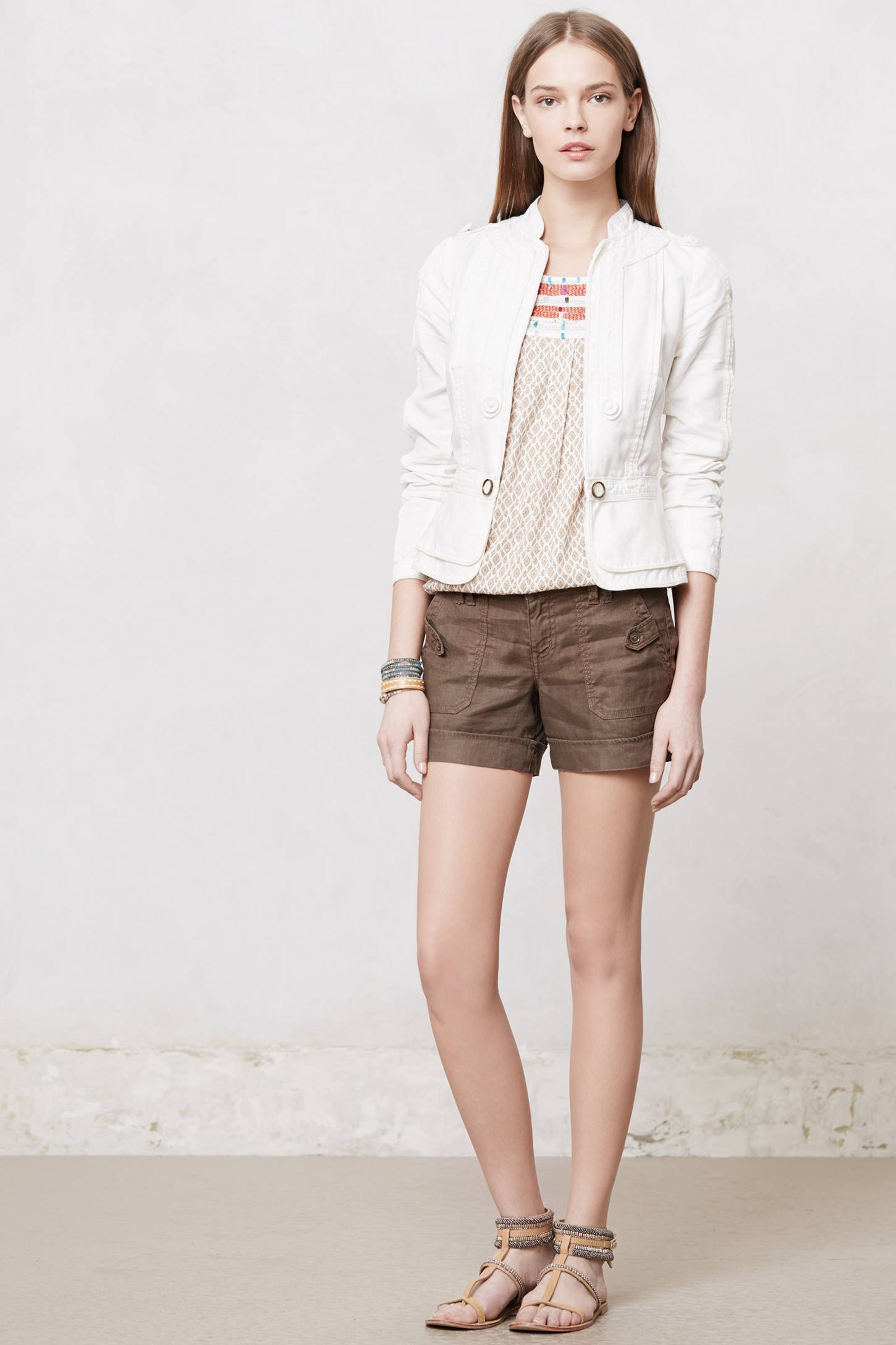 Cropped Field Jacket