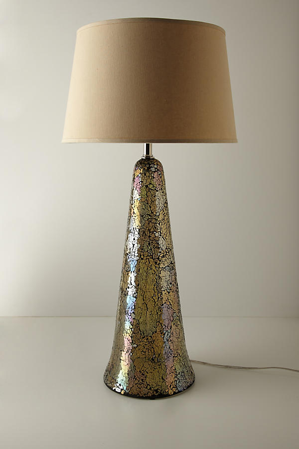 Tarnished Prism Lamp Base