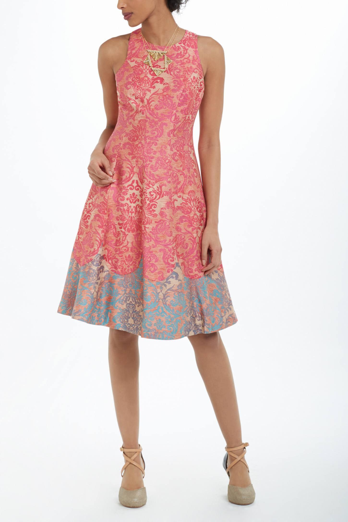 Colwyn Brocade Dress
