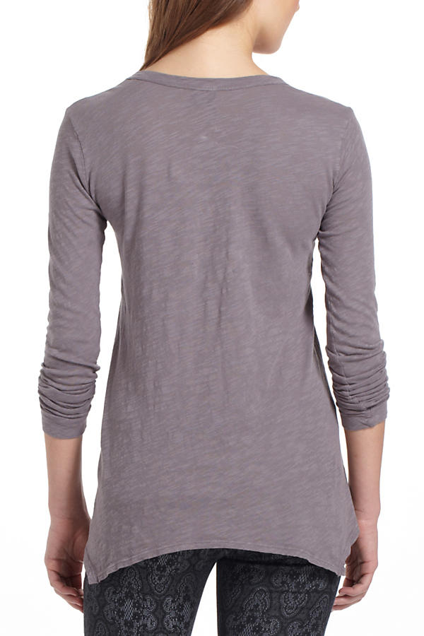 Slide View: 3: Basic V-Neck Tee