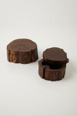 Handcrafted Teakwood Jewelry Box Anthropologie
