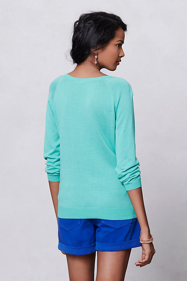 Slide View: 2: Mintprint Pullover