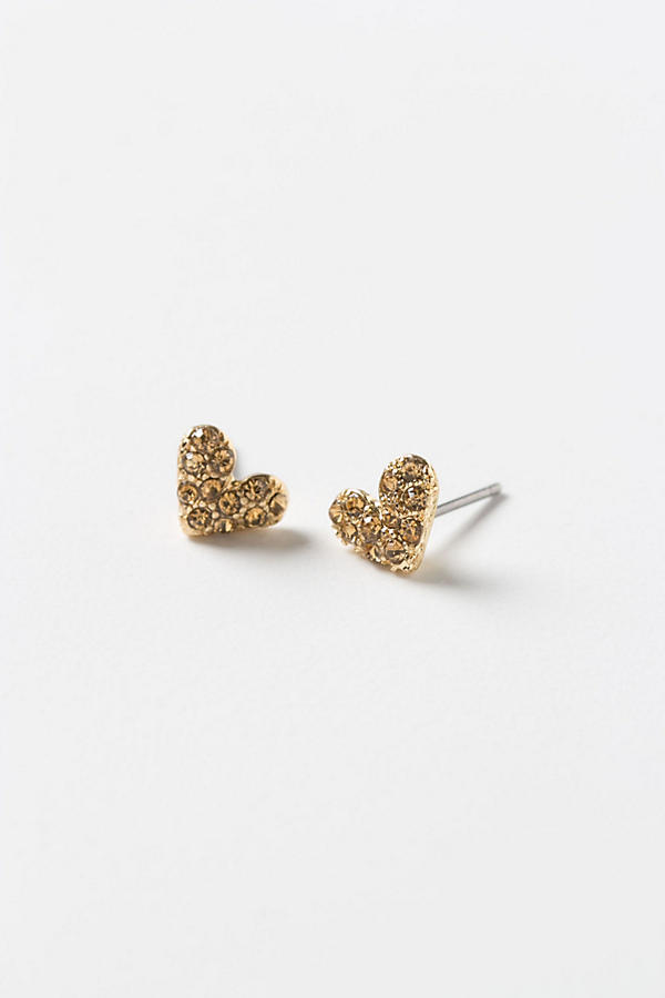 Hopeful Hearts In Moss Studs