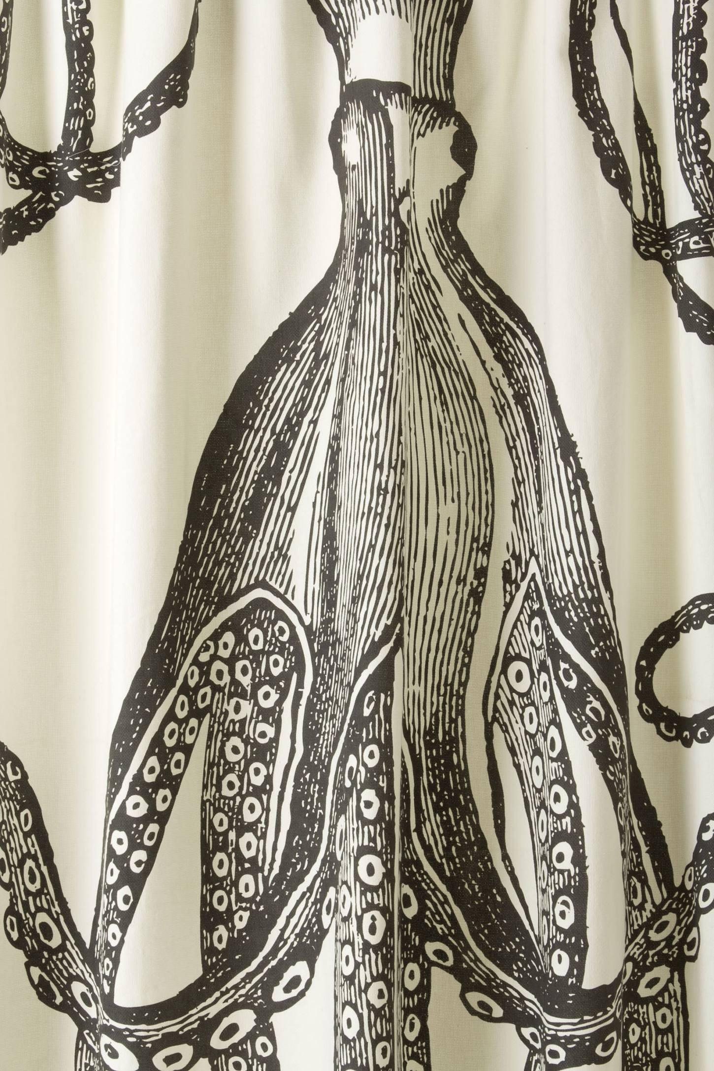 Octopus Garden Shower Curtain Anthropologie