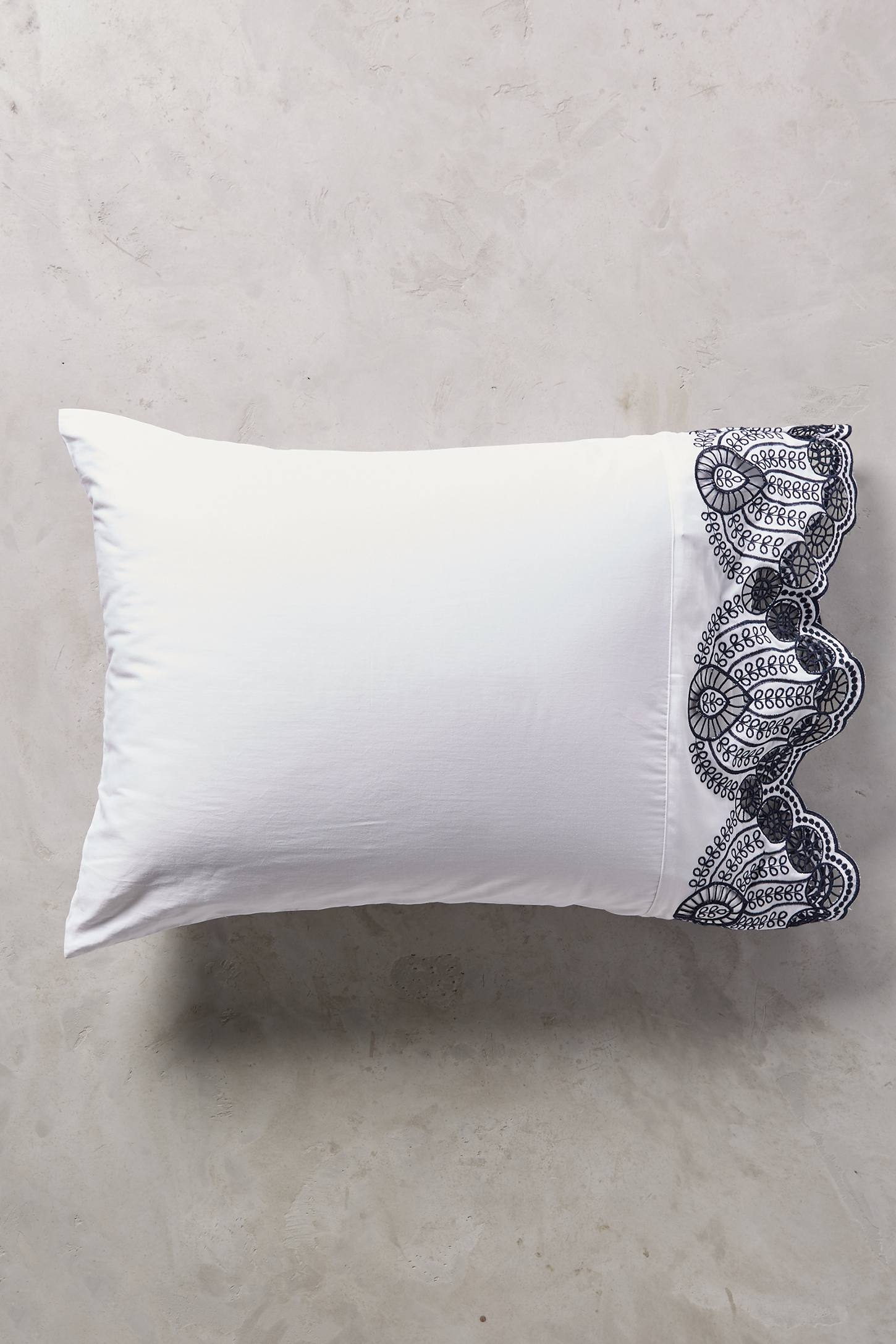 Slide View: 3: Eyelet Embroidered Sheet Set