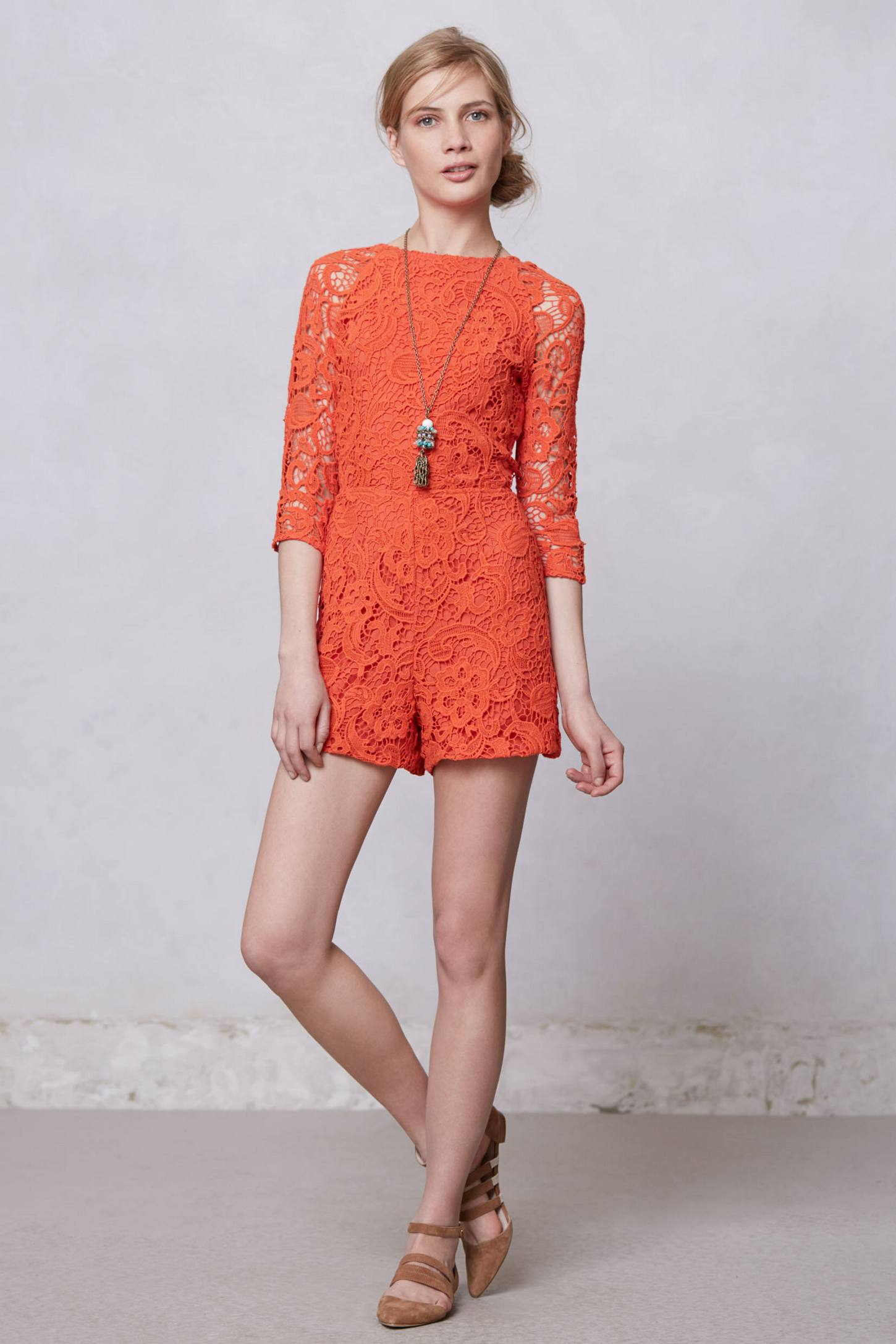 Accordance Lace Romper