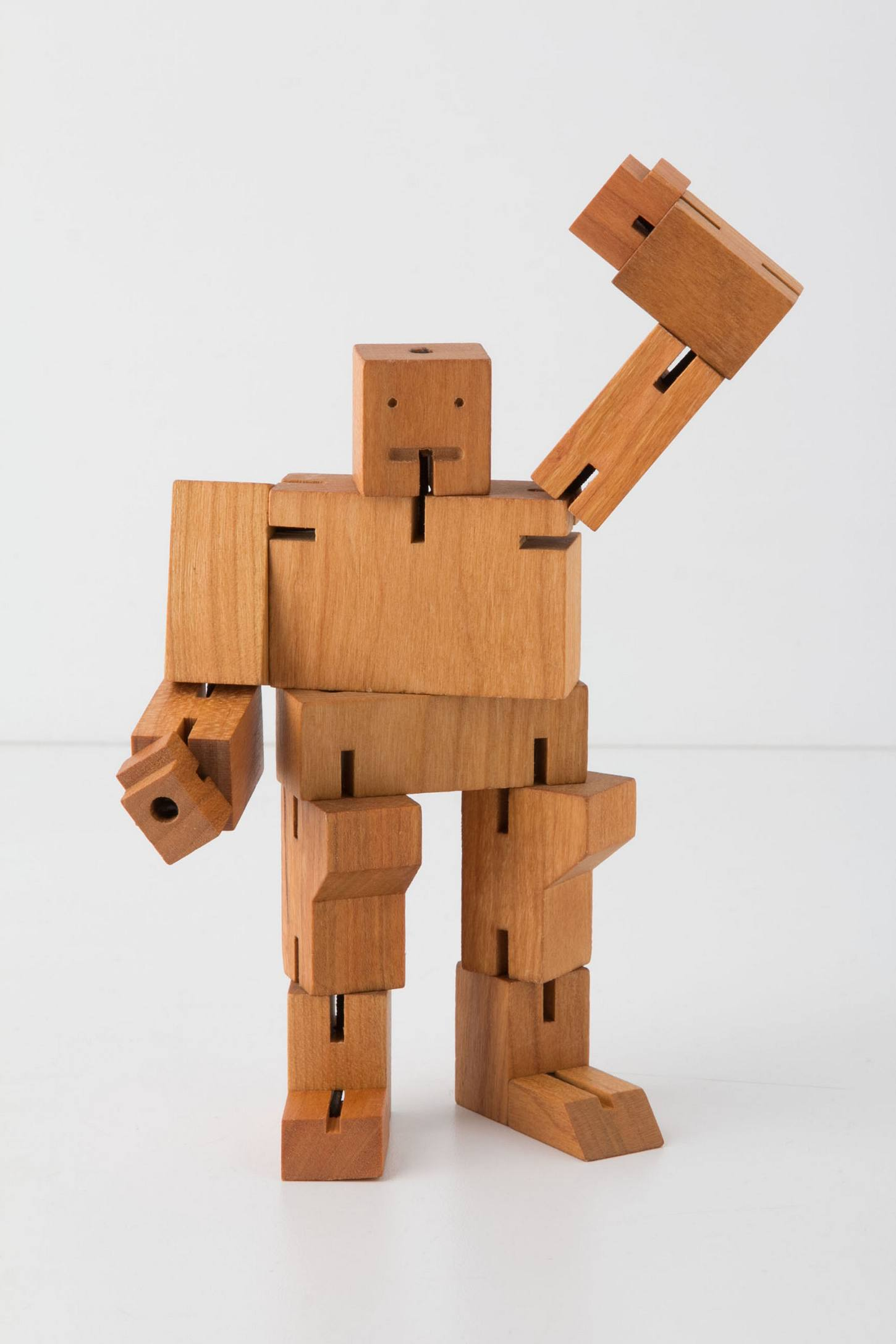 Cube-Bot Wooden Toy