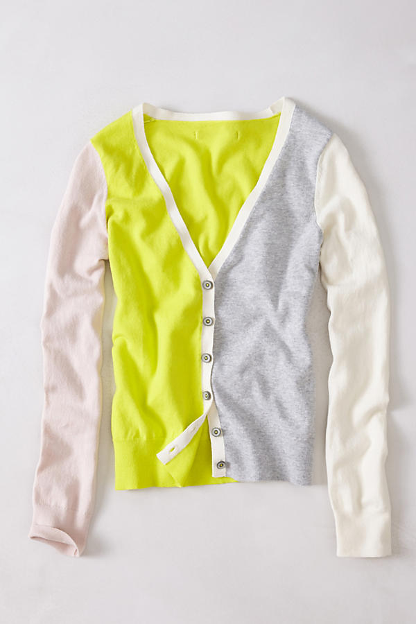 Lateral Neon Cardigan